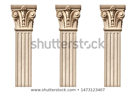 Column and frieze Stock photo © jakatics