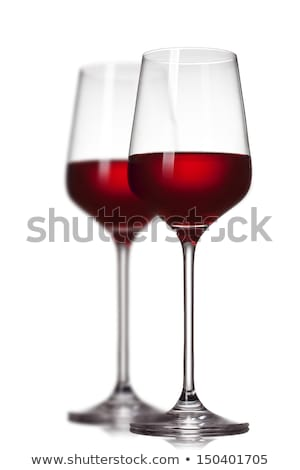 Sommelier with two glasses of red wine Stock photo © photography33