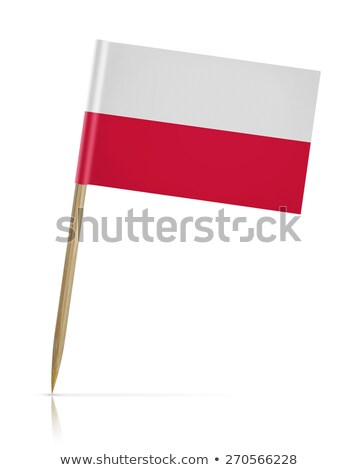 miniature flag of poland isolated stock photo © bosphorus