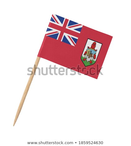 Miniature Flag of Bermuda (Isolated) Stock photo © bosphorus