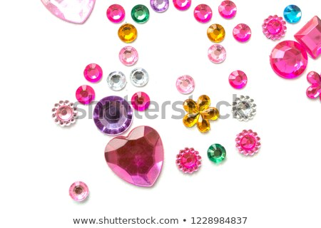 Rhinestones in form of a heart Stock photo © 3523studio