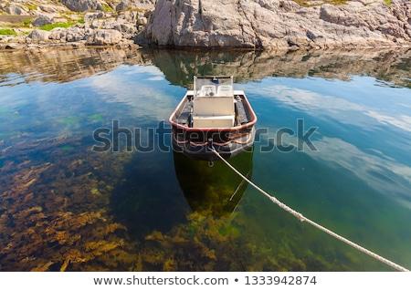 живописный · Норвегия · антенна · Панорама · рыбалки · города - Сток-фото © phbcz