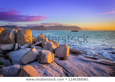 latarni · wybrzeża · Południowej · Afryki · wody · charakter · krajobraz - zdjęcia stock © forgiss