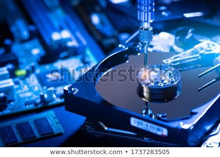 proteger · tecnologia · móvel · trancar · informação - foto stock © zhukow