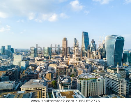 View of London business district Stock photo © pab_map