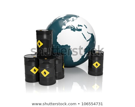3d illustration: Oil production in large quantities: Barrels of  Stock photo © kolobsek