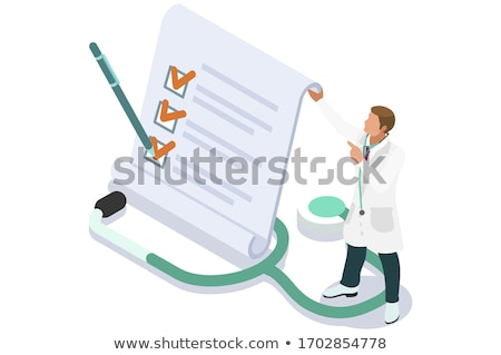 diagnosis Stock photo © xedos45