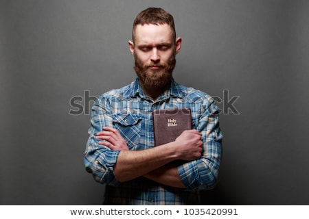 Pastor With Holy Bible Stock photo © sframe