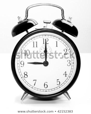 Dziewięć zegar harmonogram zajęty rano nikt Zdjęcia stock © Stocksnapper