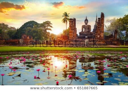Historical Park of Sukhothai Stock photo © bbbar