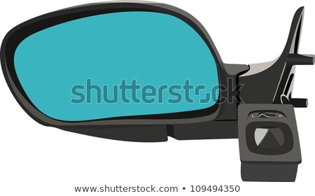 rearview car driving mirror overtaking big truck stock photo © lunamarina