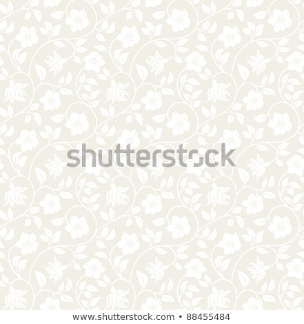 Brown floral pattern background Stock photo © ratselmeister