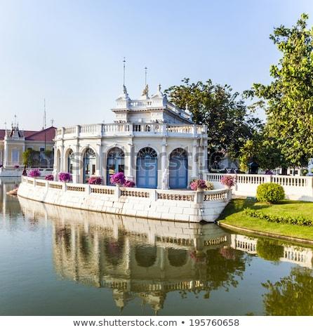 Mooie gebouwen park knal koning Thailand Stockfoto © meinzahn