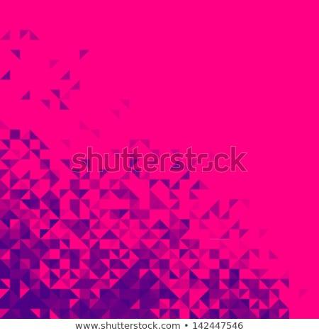 Résumé vecteur lumineuses rouge pixel Photo stock © ESSL