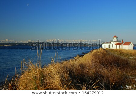 Discovery Park West Point Lighthouse Puget Sound Seattle Nautica Stock photo © cboswell
