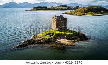 Stalker Castle in Scotland Stock photo © jeffbanke