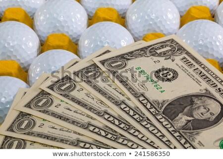 jogador · de · golfe · caixa · jovem · masculino · bola · oceano - foto stock © capturelight