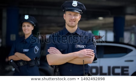 Police officers on duty Stock photo © smuki