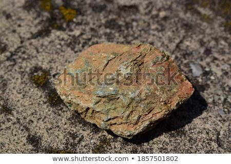 Mineral pedra verde abstrato luz fundo Foto stock © pixelman