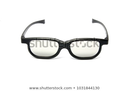 cinema glasses isolated on white Stock photo © RuslanOmega