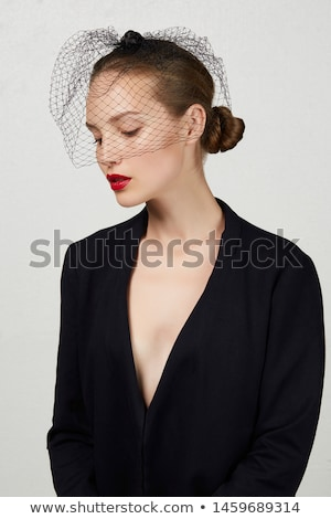 Fishnet cloak Stock photo © disorderly