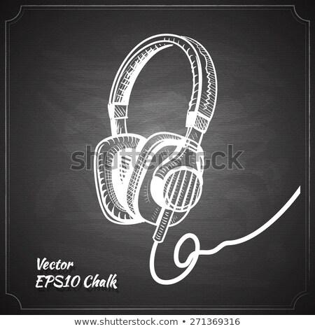 alto-falante · volume · giz · ícone - foto stock © rastudio
