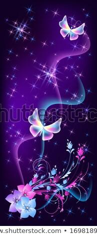Fantasy noc tajemnicy karty ozdoba Zdjęcia stock © netkov1