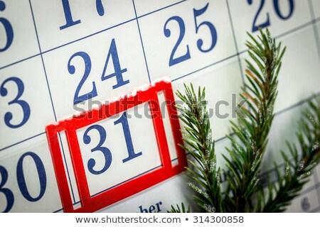 Toggle wall calendar Stock photo © Valeriy