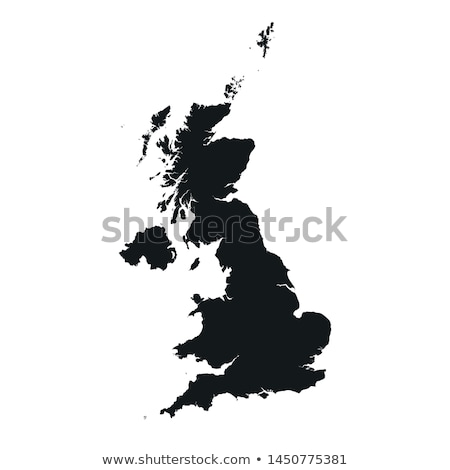 Reino Unido Irlanda bandeiras quebra-cabeça isolado branco Foto stock © Istanbul2009