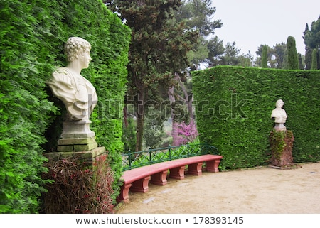 santa clotilde gardens lloret de mar costa brava stock photo © lunamarina
