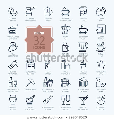Kettle line icon. Stock photo © RAStudio