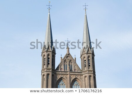 de krijtberg church in amsterdam the netherlands stock photo © vladacanon