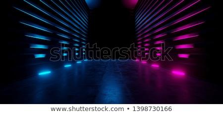 futuristische · entree · hal · corporate · gebouw · 3D - stockfoto © spectral