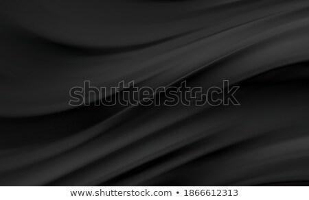 Soyut siyah dalgalı soyutlama vektör dizayn Stok fotoğraf © saicle