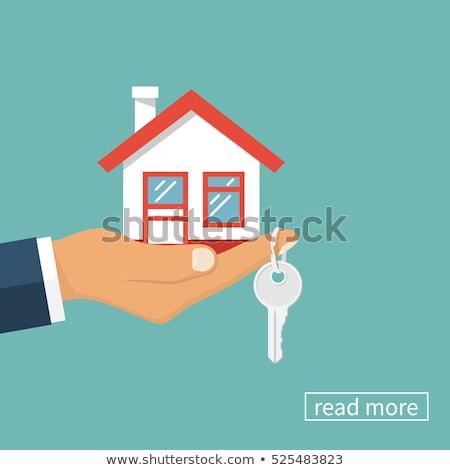 Key to Apartment on the Palm Icon Stock photo © robuart