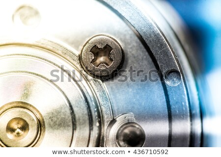 HDD Spindle extreme closeup Stock photo © Kirill_M