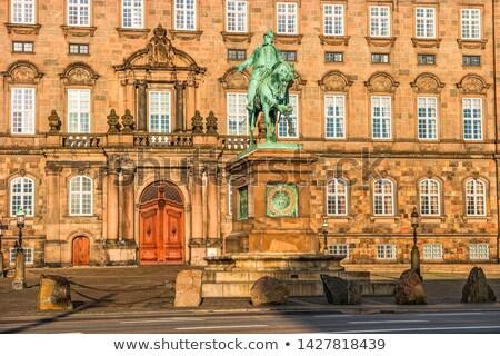 Copenhagen · blu · rosso · case - foto d'archivio © vladacanon
