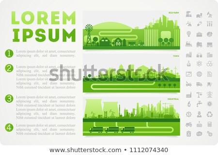 Vecteur nucléaire rapport modèle sombre Photo stock © orson