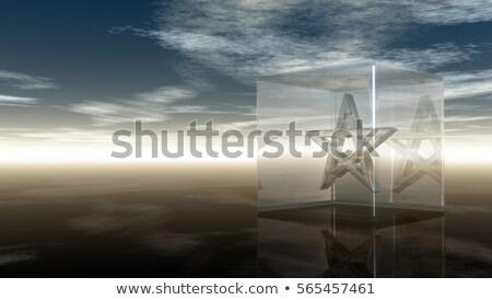 büyü · küp · görüntü · yalıtılmış · beyaz · sanat - stok fotoğraf © drizzd