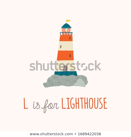 lighthouse design stock photo © sdcrea