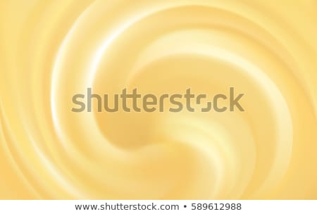 örvény citromsárga krém gyümölcs málna mártás Stock fotó © Digifoodstock