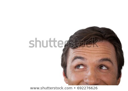 High section of thoughtful mature man looking away Stock photo © wavebreak_media
