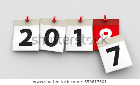 2017 2018 3 stock photo © oakozhan