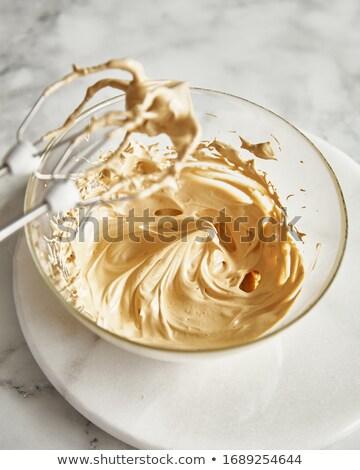 Kawy bić twórczej martwa natura Fotografia filiżankę kawy Zdjęcia stock © Fisher
