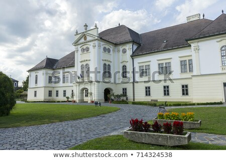 Forgacs mansion in Szecseny Stock photo © skovalsky