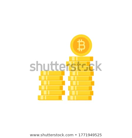 Bitcoin Refund Flat Icon Stock photo © ahasoft