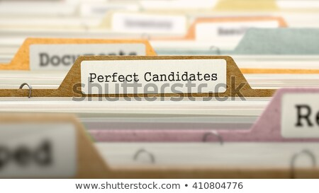 folder register with wanted 3d stock photo © tashatuvango