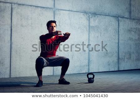 筋肉の 男 crossfitの ジム フィットネス ストックフォト © wavebreak_media