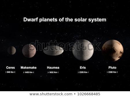 Солнечная · система · Плутон · карлик · планеты · пояса · кольца - Сток-фото © nasa_images