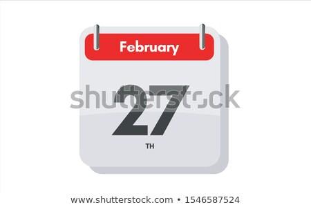 27th February Stock photo © Oakozhan